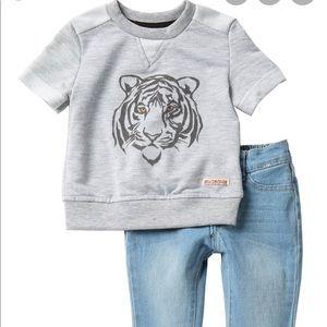 Hudson Tiger Matching Set (18 months)